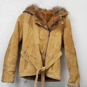 Wilson's Tan Leather Heavy Duty Jacket
